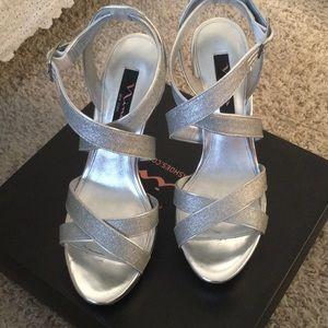 dffeaeae899ed2 Nina Shoes - Nina Josette Silver Sandals